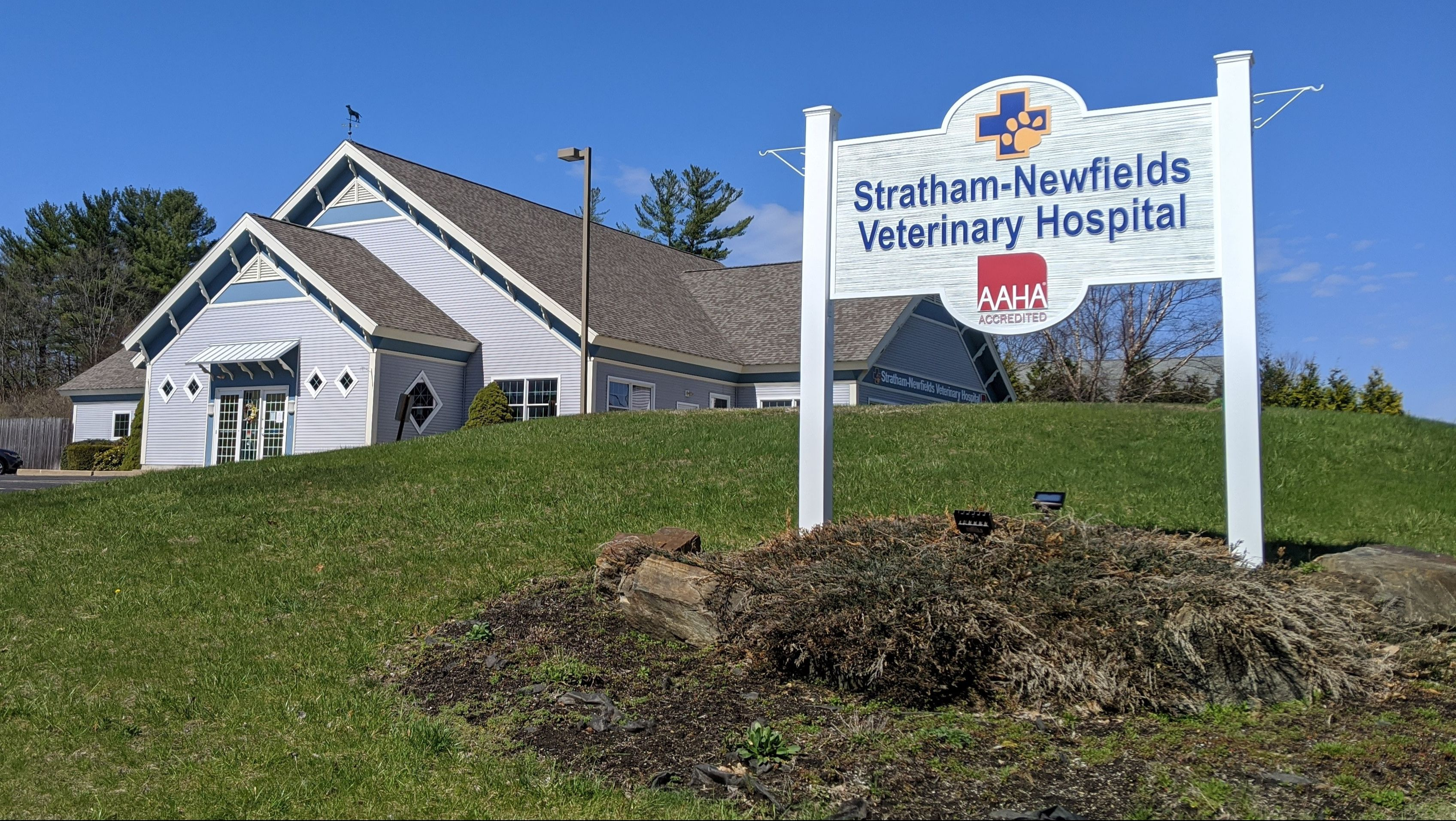 Stratham Newfields Veterinary Hospital Home